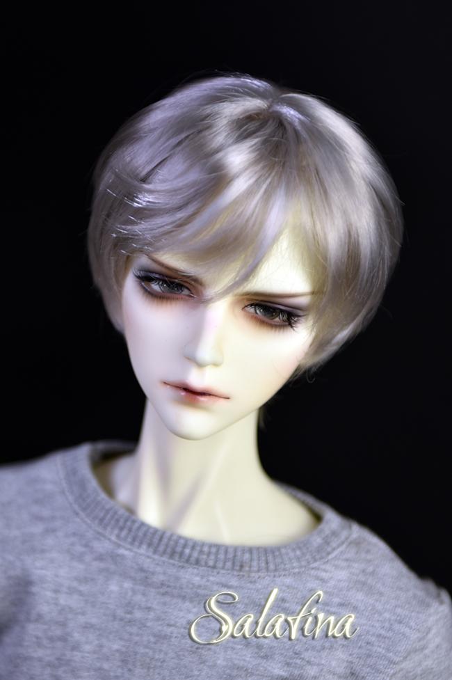 ドール用ウィッグ  人形ウィッグ イケメン 男用 1/3/1/4/1/6サイズ 超柔らかい糸 ショートヘア製品図1