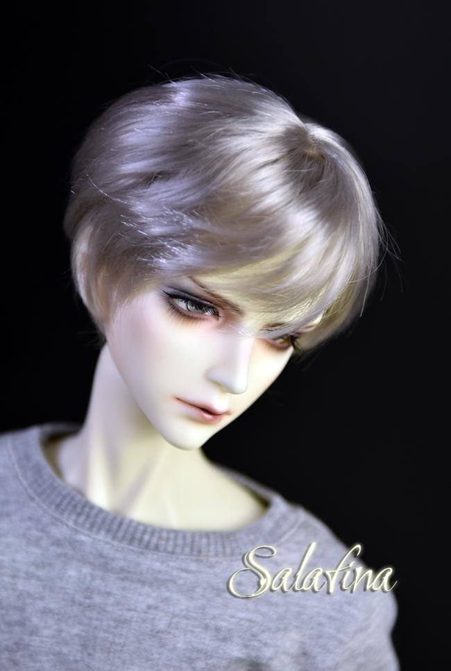ドール用ウィッグ  人形ウィッグ イケメン 男用 1/3/1/4/1/6サイズ 超柔らかい糸 ショートヘア製品図2