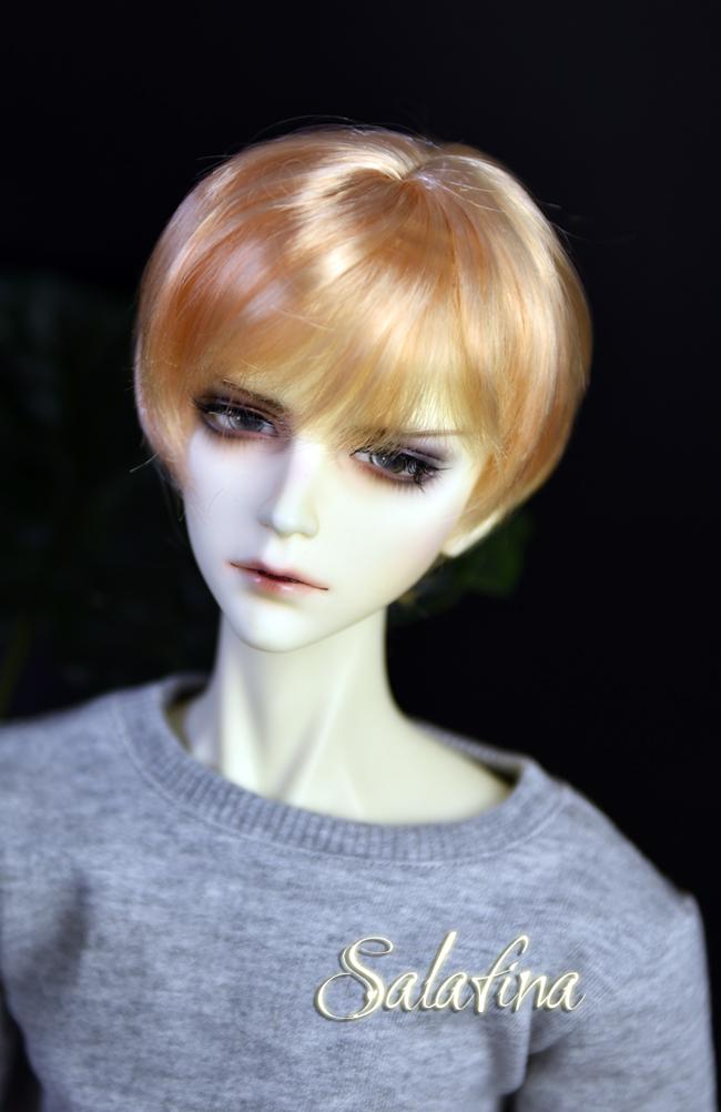 ドール用ウィッグ  人形ウィッグ イケメン 男用 1/3/1/4/1/6サイズ 超柔らかい糸 ショートヘア製品図3