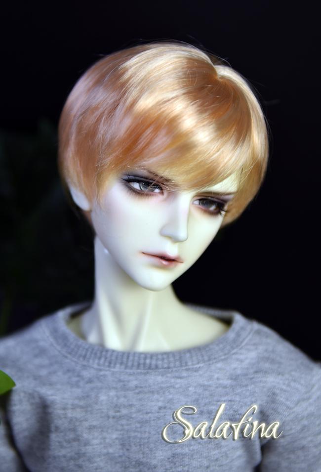 ドール用ウィッグ  人形ウィッグ イケメン 男用 1/3/1/4/1/6サイズ 超柔らかい糸 ショートヘア製品図4