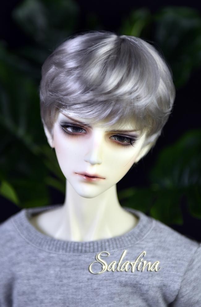 ドール用ウィッグ  人形ウィッグ 少年感 ショートヘア 1/3/1/4/1/6サイズ 超柔らかい糸製品図5