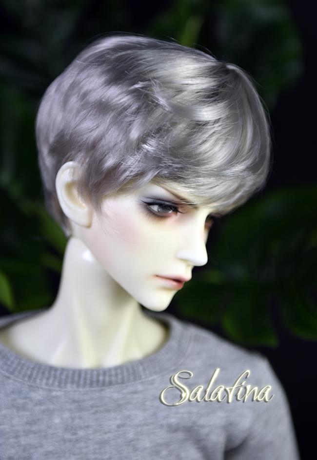ドール用ウィッグ  人形ウィッグ 少年感 ショートヘア 1/3/1/4/1/6サイズ 超柔らかい糸製品図6