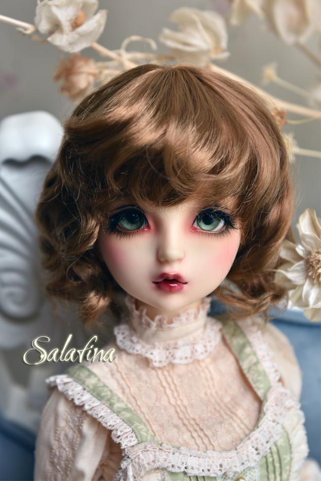 ドール用ウィッグ  人形ウィッグ 可愛いショートヘア 1/6サイズ 超柔らかい糸 BJD SD製品図6