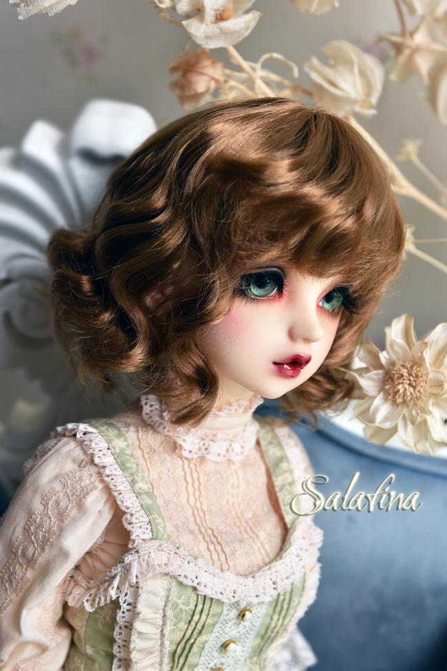 ドール用ウィッグ  人形ウィッグ 可愛いショートヘア 1/6サイズ 超柔らかい糸 BJD SD製品図7