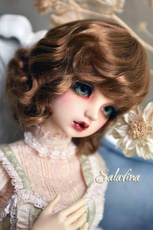ドール用ウィッグ  人形ウィッグ 可愛いショートヘア 1/6サイズ 超柔らかい糸 BJD SD製品図8