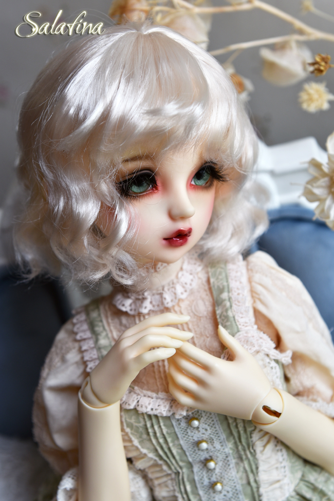 ドール用ウィッグ  人形ウィッグ 可愛いショートヘア 1/6サイズ 超柔らかい糸 BJD SD製品図1