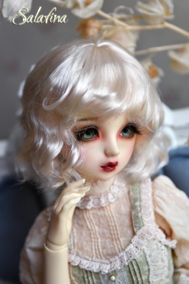 ドール用ウィッグ  人形ウィッグ 可愛いショートヘア 1/6サイズ 超柔らかい糸 BJD SD製品図2
