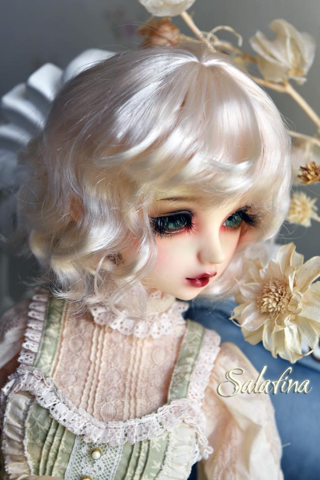 ドール用ウィッグ  人形ウィッグ 可愛いショートヘア 1/6サイズ 超柔らかい糸 BJD SD製品図4