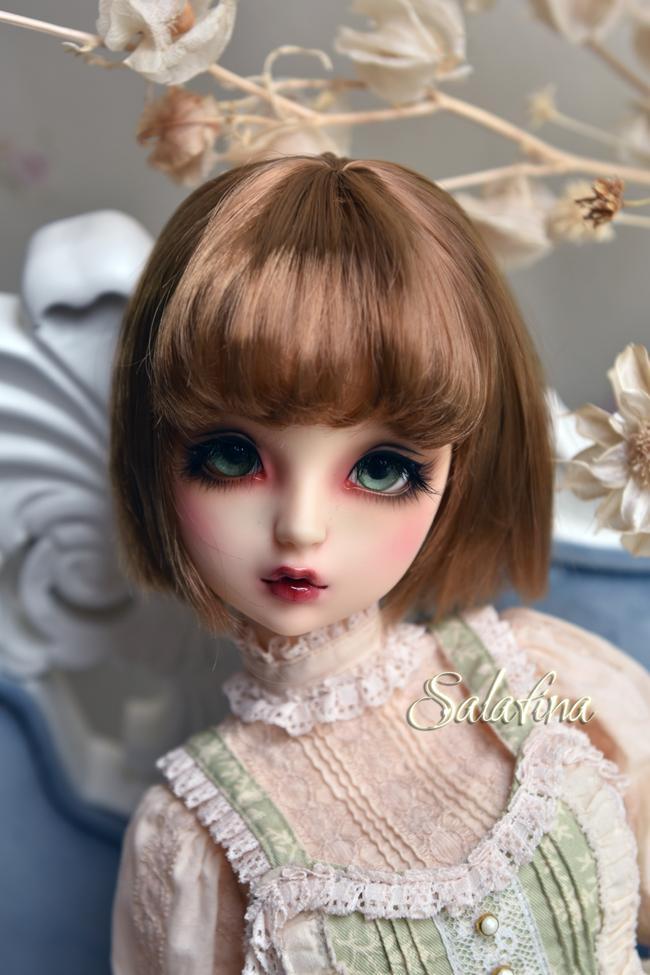 ドール用ウィッグ  人形ウィッグ 日常ショートヘア 1/3/1/4/1/6/1/8サイズ 超柔らかい糸 SD BJD製品図5