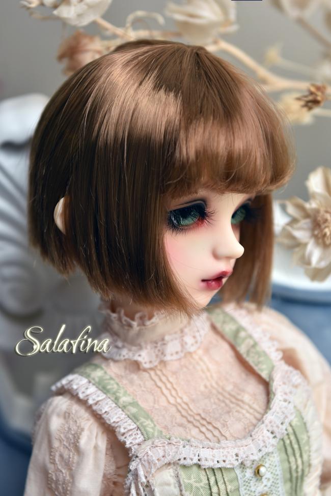 ドール用ウィッグ  人形ウィッグ 日常ショートヘア 1/3/1/4/1/6/1/8サイズ 超柔らかい糸 SD BJD製品図6