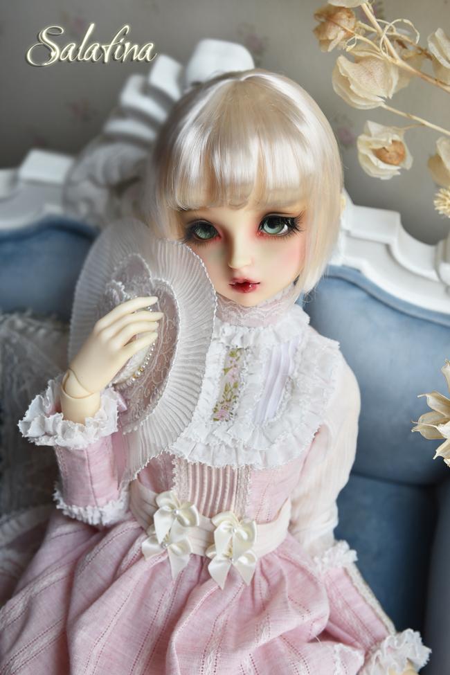 ドール用ウィッグ  人形ウィッグ 日常ショートヘア 1/3/1/4/1/6/1/8サイズ 超柔らかい糸 SD BJD製品図1