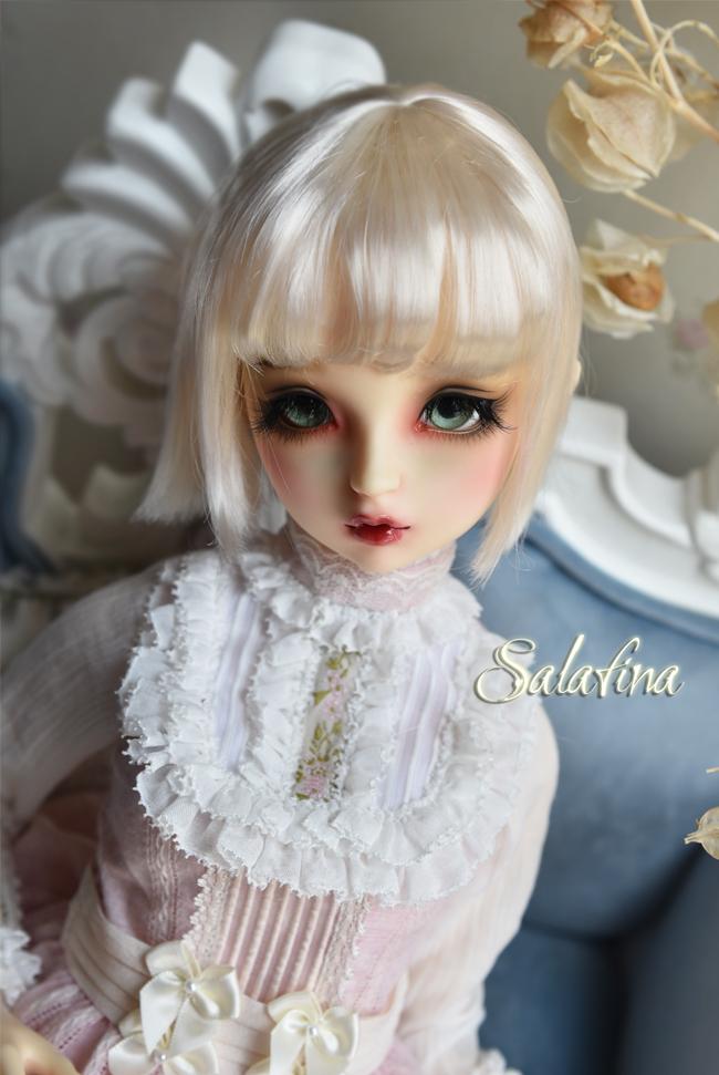ドール用ウィッグ  人形ウィッグ 日常ショートヘア 1/3/1/4/1/6/1/8サイズ 超柔らかい糸 SD BJD製品図3