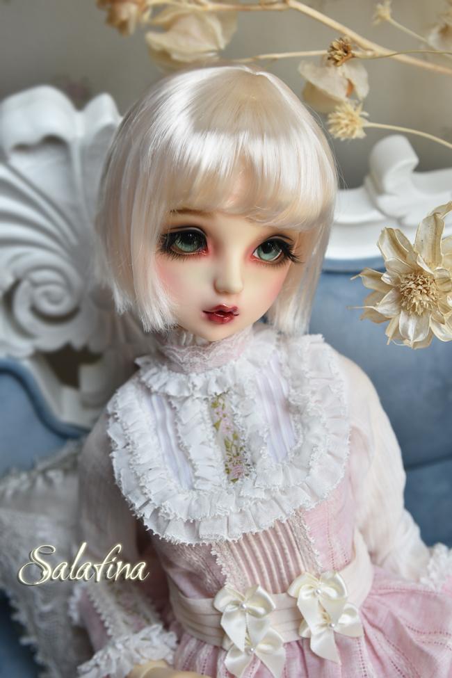 ドール用ウィッグ  人形ウィッグ 日常ショートヘア 1/3/1/4/1/6/1/8サイズ 超柔らかい糸 SD BJD製品図4