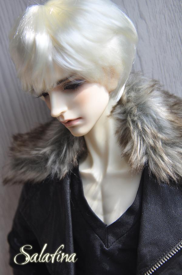 ドール用ウィッグ  人形ウィッグ 男性 日常ショートヘア 超柔らかい糸 1/3/1/4/1/6サイズ 製品図4