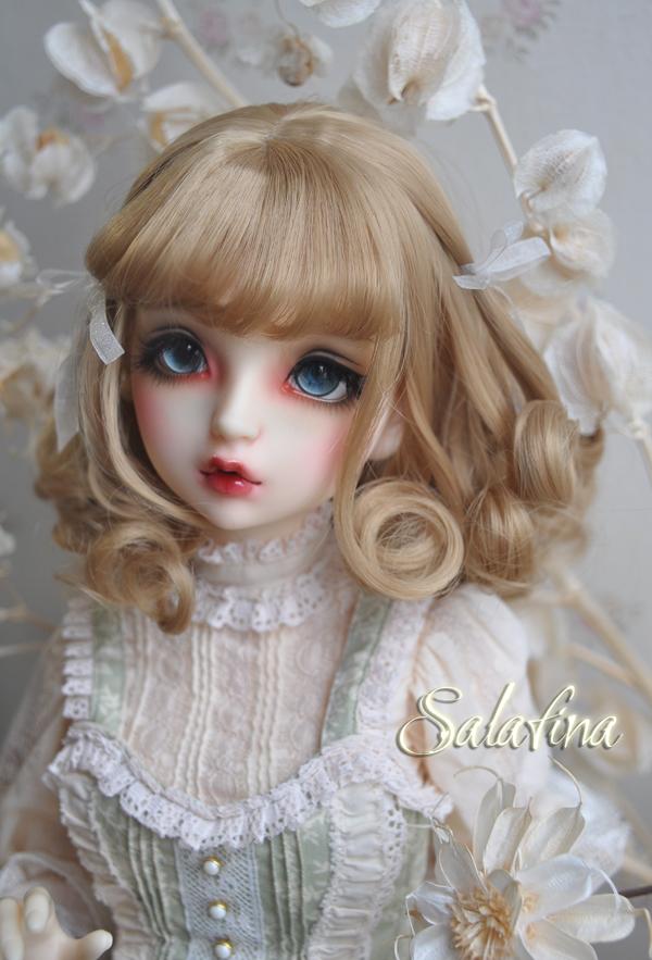 ドール用ウィッグ  人形ウィッグ 欧米スタイル 1/3/1/4/1/6サイズ 高温糸 BJD SD製品図3