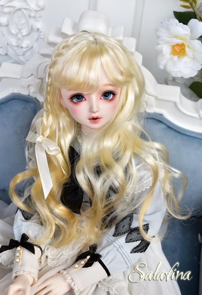 ドール用ウィッグ  人形ウィッグ 可愛いショートヘア 1/3/1/4/1/6サイズ 超柔らかい糸 BJD SD製品図6