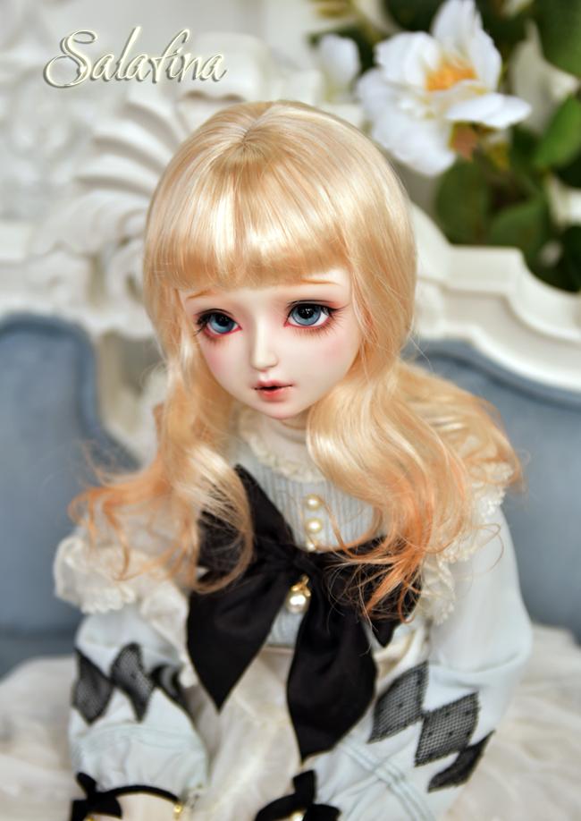 ドール用ウィッグ  人形ウィッグ 可愛いショートヘア 1/3/1/4/1/6サイズ 超柔らかい糸 BJD SD製品図8
