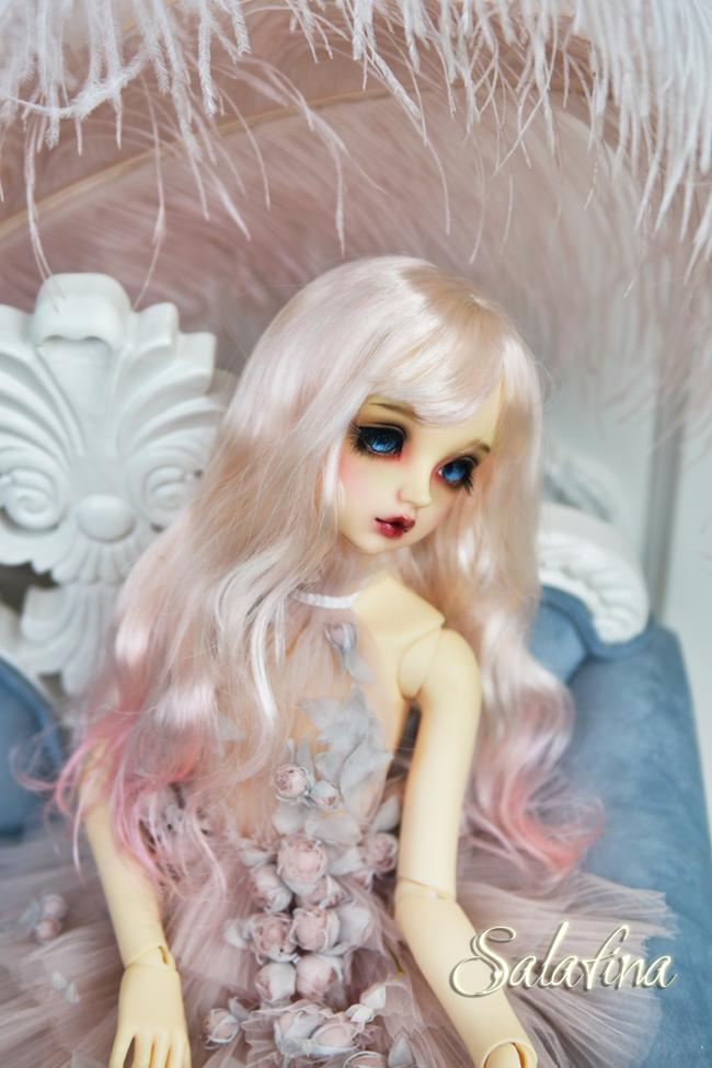 ドール用ウィッグ  人形ウィッグ 可愛いショートヘア 1/3/1/4/1/6サイズ 超柔らかい糸 BJD SD製品図2