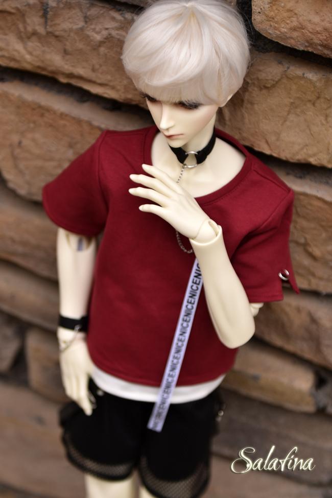 ドール衣装 SalaXCrazy Bear 上着+ズボン+腕飾り BJD衣装 大1/3サイズ製品図5