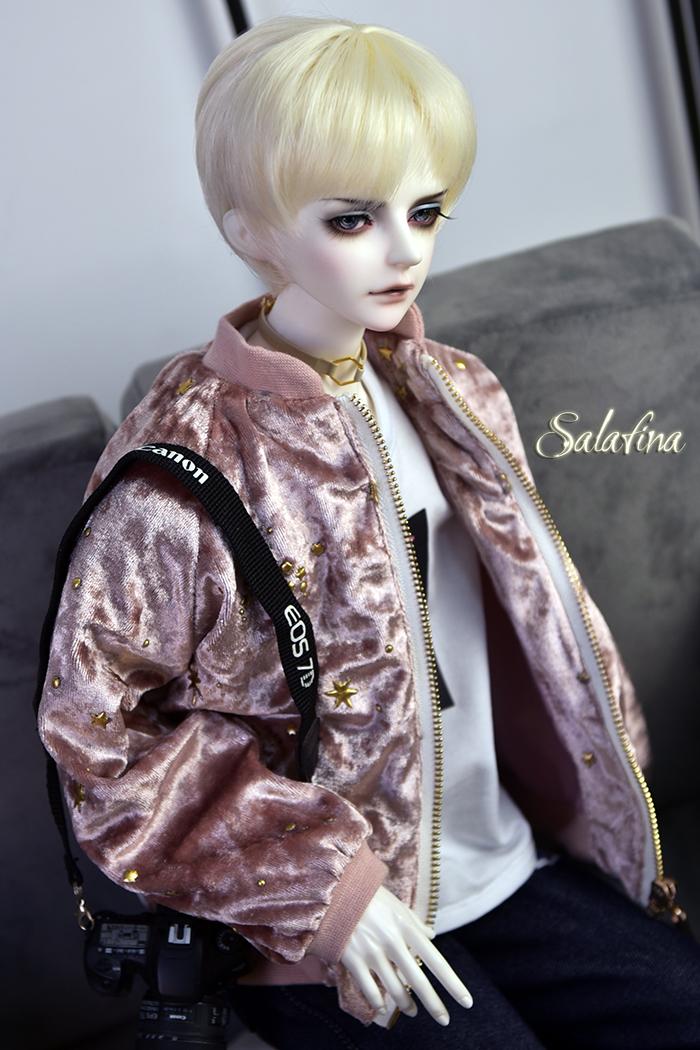 ドール衣装 ジャケット 70cm72cm叔sd17 上着 shining star 男用 BJD衣装 1/3サイズ製品図1