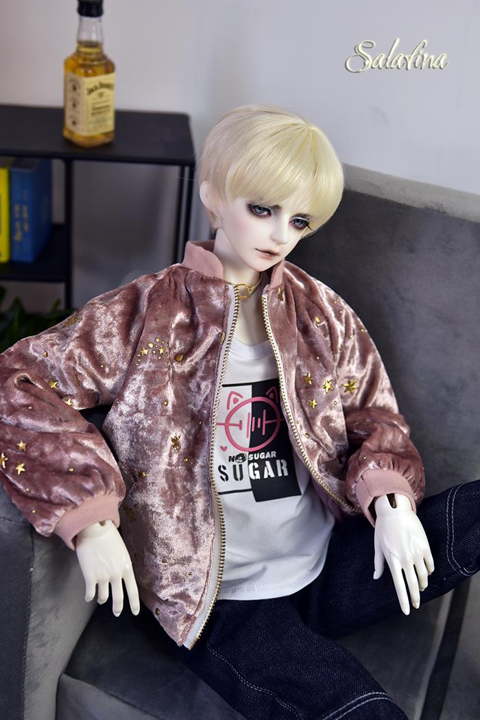 ドール衣装 ジャケット 70cm72cm叔sd17 上着 shining star 男用 BJD衣装 1/3サイズ製品図2