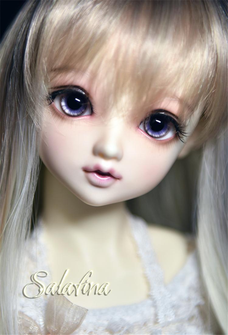 ガラスアイ SD BJD ドール用ガラスアイ「灰紫」三白眼 アイリス 141618mm製品図6