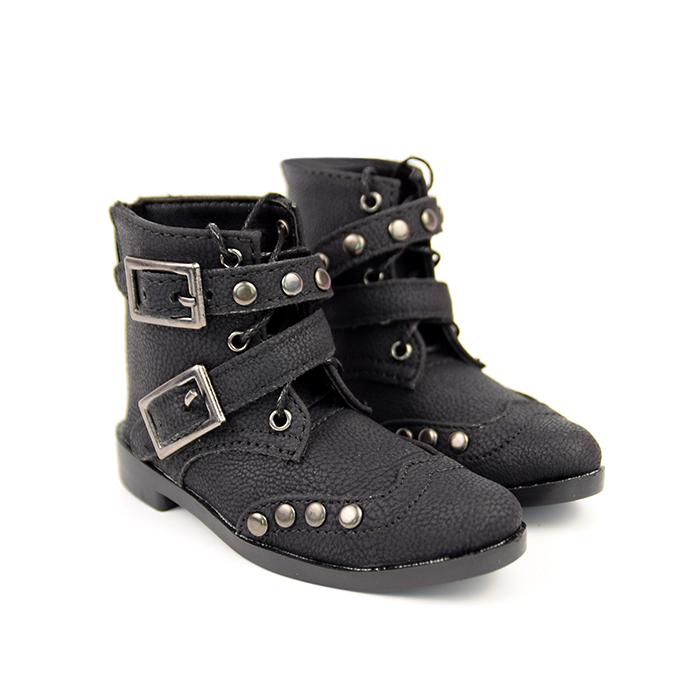 BJD靴  ドール靴 男用 人形靴 ブラウン 黒色 1/3サイズ製品図3