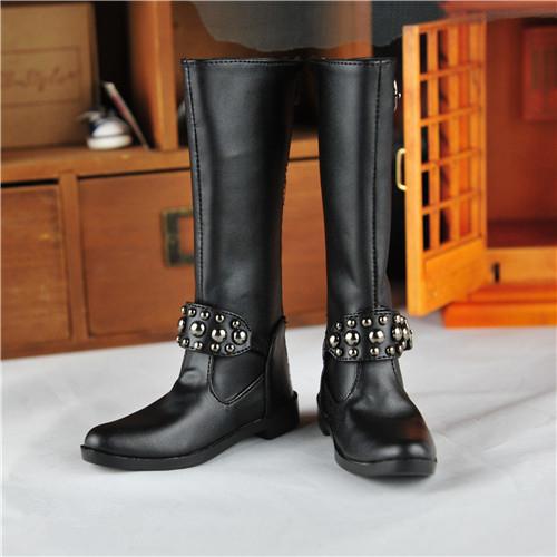 BJD靴  ドール靴 男用 人形靴 長ブーツ 1/3サイズ製品図1