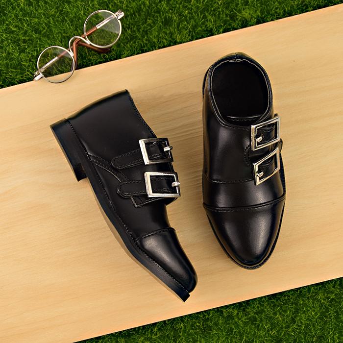 BJD靴  ドール靴 男用 人形靴 かわぐつ 1/3サイズ製品図1