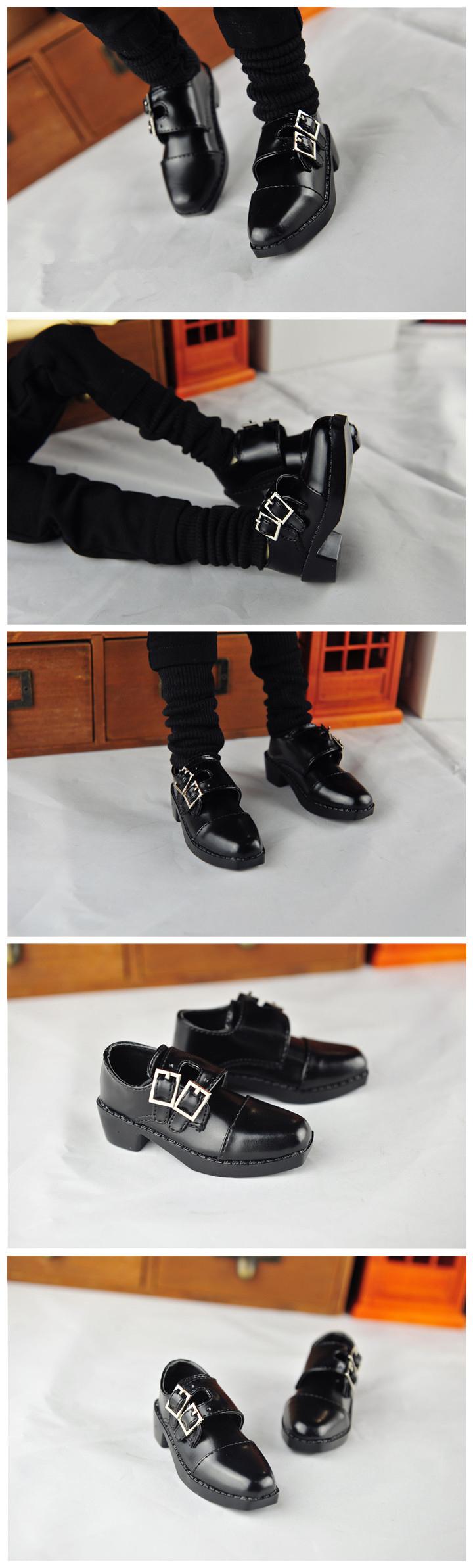 BJD靴  ドール靴 男用 人形靴 かわぐつ 1/3サイズ製品図4