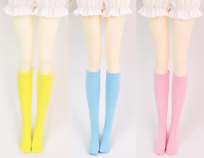 ドール衣装 色靴下 BJD衣装 1/3/1/4サイズ製品図1
