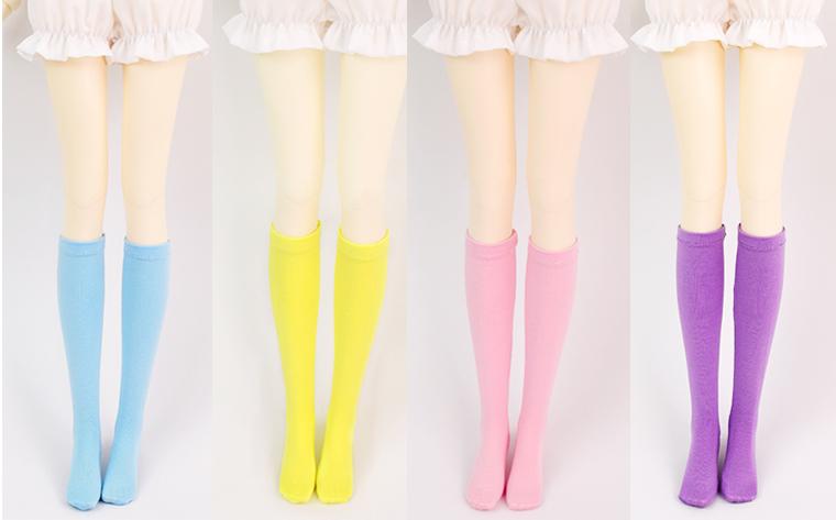 ドール衣装 色靴下 BJD衣装 1/3/1/4サイズ製品図2
